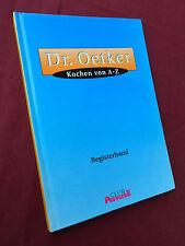 DR. OETKER Kochen von A-Z REGISTERBAND  D1