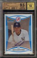 2008 Bowman Chrome Jesus Montero Rookie RC Autograph BGS 9.5 Gem Mint 10 Auto 02
