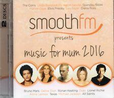 Music For Mum 2016 (2 x CD) Spandau Ballet/George Michael/The Corrs/Kool & Gang