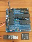 68K-MBC LITE 512k Version Built and tested BLUE.  Retro CP/M CP/M-68k CPU 680008