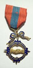 DECORATION - medaille VOYAGEURS et EMPLOYES LILLE departement NORD (5808J)