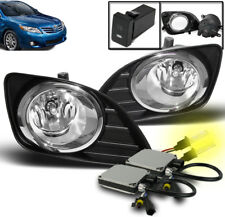 2010-2011 TOYOTA CAMRY BASE LE XLE FRONT LOWER BUMPER FOG LIGHT LAMP+3K HID PAIR