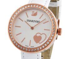 $299 Ladies' Swarovski Crystal Daytime White Heart Watch 5179367 DISPLAY ITEM