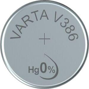 V386 Uhrenbatterie Knopfzelle = SR43W SR43 VARTA