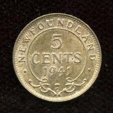 1941 Newfoundland Five Cents