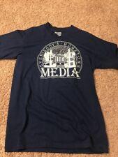 Vtg 1980s 1990 Hanes 50/50 Everybody's Hometown Media T Shirt Large Pennsylvania