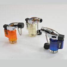 Portable Cigarette Cigar Windproof Butane Gas Refillable Lighter Torch