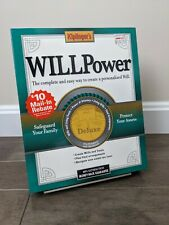 Kiplingers Will Power Deluxe 2002 Software (CD-ROM) Apple Mac PC Big Box - NEW