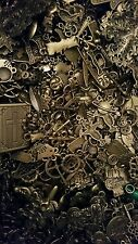 50  bronze mixed charms various sizes