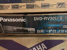Panasonic DVD/CD Player W/ Remote RCA Cable DVD-RV30 Black S Video Dolby Digital