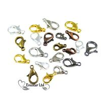 Lobster Claw Trigger Clasps Jewellery Clips Findings 10 12 14 16mm CBR