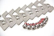 Honda Integra Front Brembo Caliper Pad Guide Plate Stainless Steel Shims, Screws