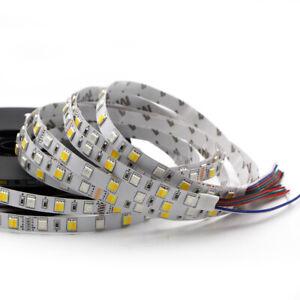 5M RGB 300 LED Strip light waterproof RGBW RGB+CCT 5050 Flexible tape lamp 24V