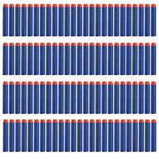 100Pcs 7.2cm Soft Refill Darts for Nerf N-strike Elite Series Blasters Toy GunIB