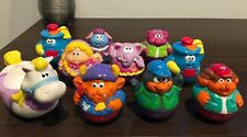 WEEBLES  ~ Lot of 10 ~ Hasbro Chunky Figures Princess & Horse,