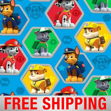"Paw Patrol Rescue Fleece Fabric - 60"" Wide - Style# 4019 - Free Shipping"