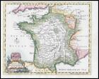 1764 - FRANCE Gascony Bretany Normandy Dauphine Lionois Thomas Jefferys (KWM6)