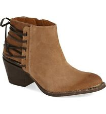 Anthropologie Klub Nico Berta Boot in Tobacco Suede - Size 8
