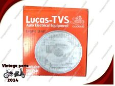 "VINCENT 7"" LUCAS HEADLIGHT HEAD LAMP BEAN UNIT WITHOUT PILOT HOLE (LOWEST PRICE)"