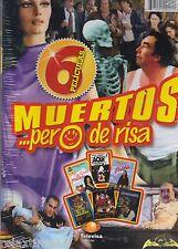 MUERTOS...PERO DE RISA! DVD| 6 PELICULAS| 2 DISCOS|ESPANOL|REG 1&4