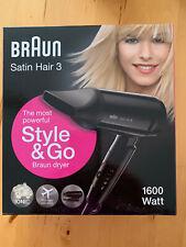 Braun Satin Hair 3 HD 350 Haartrockner/Reise Fön - NEU