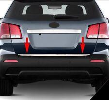 Kia Sorento Mk2 II 2010Up Chrome Rear Trunk Tailgate Lid Molding Trim S.Steel