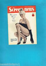 #T42.  NEW  SCREEN NEWS MAG. 14/10/1960, MONIQUE VAN VOOREN  COVER