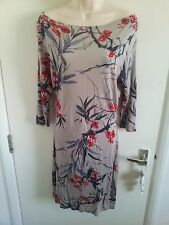 BNWT JOE BROWNS FLORAL PRINT DRESS (3/4 LENGTH SLEEVES) UK 12