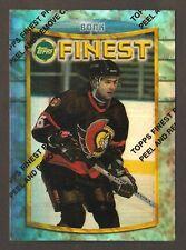 RADEK BONK 1994-95 Finest hockey #3 REFRACTOR w/peel Ottowa Senators NHL *******