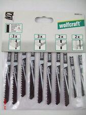 Stichsägeblätter U- Schaft f.Holz wolfcraft 10 Stück