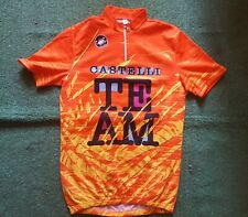 Castelli team MAGLIA CICLISMO cycling shirt maillot jersey vintage trikot cicli