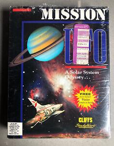 Mission UFO Vintage IBM/PC Educational Game Cliffs Studyware (Almost) Sealed