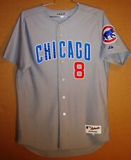 CHICAGO CUBS Gray #8 MIKE QUADE GAME WORN Size 46 MLB Baseball Majestic JERSEY