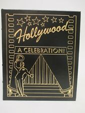 HOLLYWOOD: A Celebration-David Thomson DK Easton Press Leather-Bound Collector's