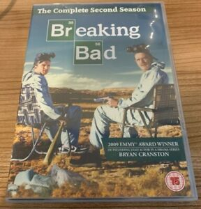 Breaking Bad The Complete 2nd Season DVD (2012, 4-Disc Set) Cert 15 Region 2 UK