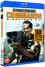 Commando Director's Cut (DVD) (2015) Arnold Schwarzenegger (Blu-ray)