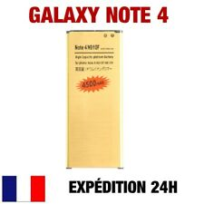 BATTERY GOLD HIGH-CAPACITY 0 CYCLE LOADING SAMSUNG GALAXY NOTE 4 / N910F