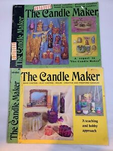 Vintage  Rare Craft Books The Candle Maker Instruction Craft Booklet & Advanced