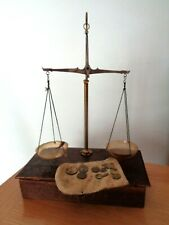 Vintage Boxed Apothecary Beam Scales & Weights