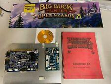 Big Buck Hunter Pro Open Season Kit Arcade Pcb Jamma Board Game