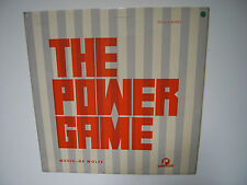 "MUSIC DE WOLFE 1967 WAYNE HILL ""THE POWER GAME"" VERY RARE 10"" MONO LP DW/LP 2988"