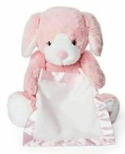 "New PEEK-A-BOO Talking PUPPY ANIMATED STUFFED PLUSH PINK 10"" Dog Interactive"