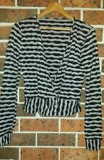 METALICUS Striped Long Sleeve Cardigan ONe Size