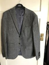 BN Mens M&S Grey Tailored Fit Single Breasted  Italian Jacket Size S
