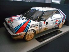 Lancia Delta HF Rally de Monte Carlo 1988 #3 saby Martini Dirty top marques 1:18