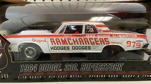 Highway 61 Collectibles 1:18 1964 Dodge 330 Superstock Ramchargers Model #50298
