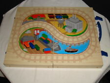 Battat Wooden Train Carrying Case(Brio,Melissa & Doug,Thomas Friends Compatible)