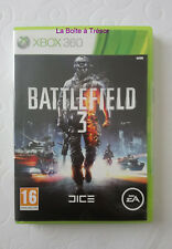 Jeu Xbox 360 complet - BATTLEFIELD 3 - Bon état