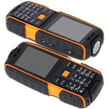 """2.4"""" IP67 Waterproof Shockproof 4800mAh Unlocked Rugged Phone 2G 2SIM Cell phone"""
