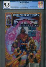 X-Men Unlimited 29 CGC 9.8 Maximum Security Bishop Rogue Ms. Marvel Uncanny 282